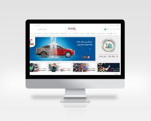 طراحی فروشگاه اینترنتی خودرویی پیس وان | فروش اسپری داشبورد و لوازم خودرویی
