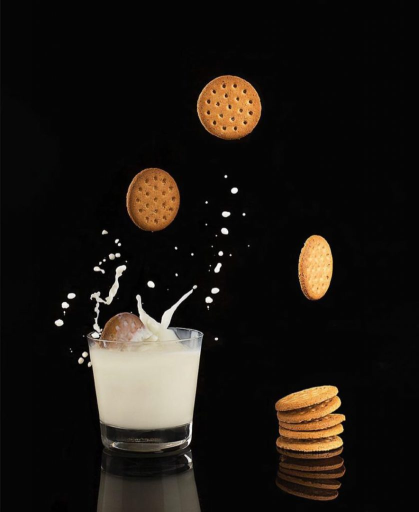 عکاسی صنعتی شیر