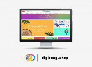 راه اندازی فروشگاه اینترنتی دیجی رنگ