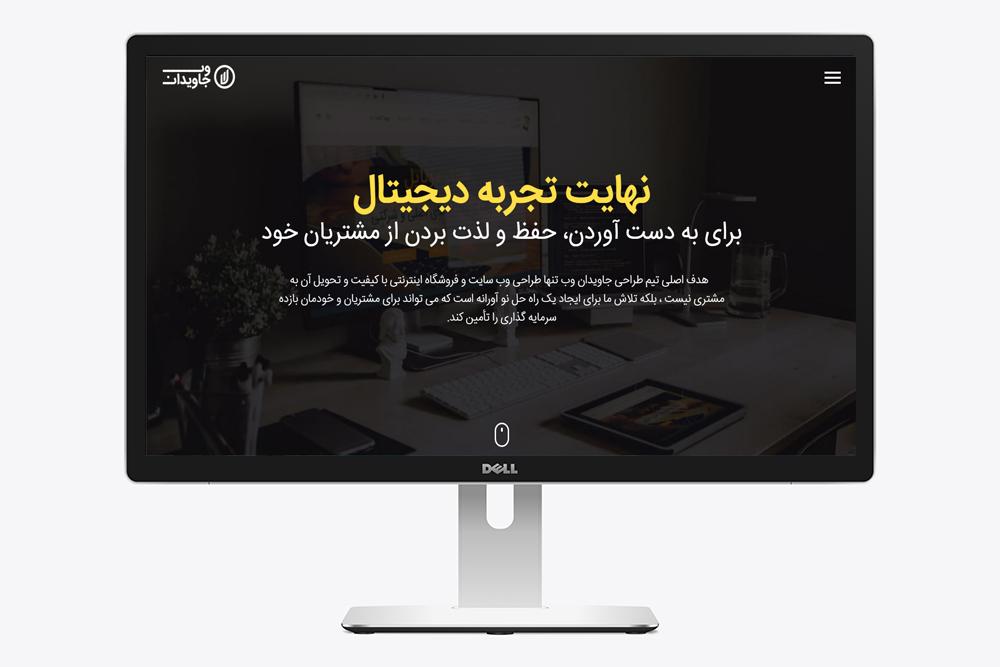 جاویدان وب ، طراح سایت
