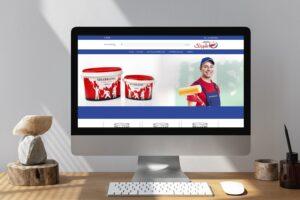 راه اندازی سایت فروشگاه اینترنتی رنگ شبرنگ