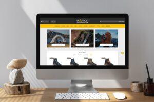 راه اندازی وب سایت فروشگاهی اورامان
